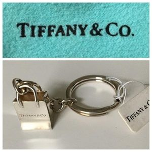 TIFFANY 💕 Sterling Silver Shopping Bag Charm